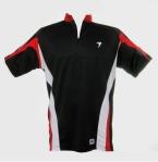 Shirt-FPSC hitam list merah putih